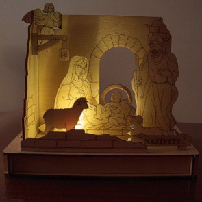 DIY Solar Kits Nativity