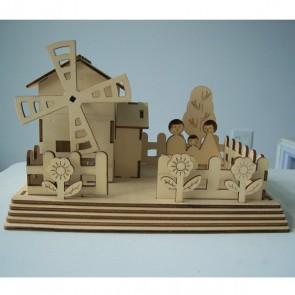 DIY Solar Kits Windmill House